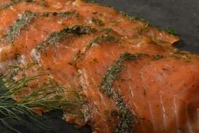 Graved Lachs geräuchert, 150g | geschnitten, aus Norwegen